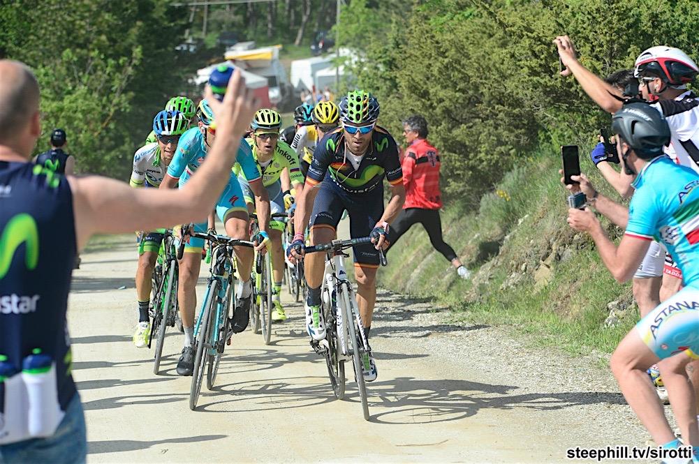 14-05-2016 Giro D'italia; Tappa 08 Foligno - Arezzo; 2016, Movistar; Valverde, Alejandro; Alpe Di Poti;