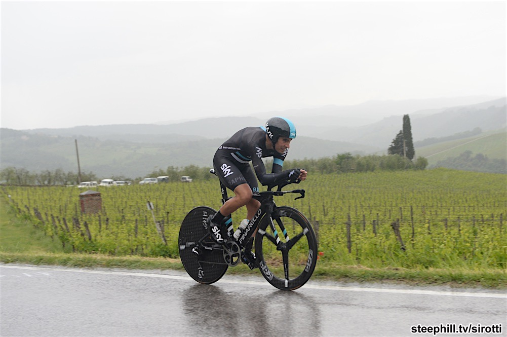 15-05-2016 Giro D'italia; Tappa 09 Radda In Chianti - Greve In Chianti; 2016, Team Sky; Landa Meana, Mikel; Panzano In Chianti;