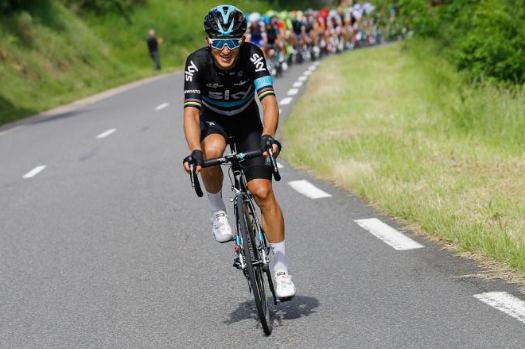 Kwiatkowski em fuga. Foto: Bettini Photo