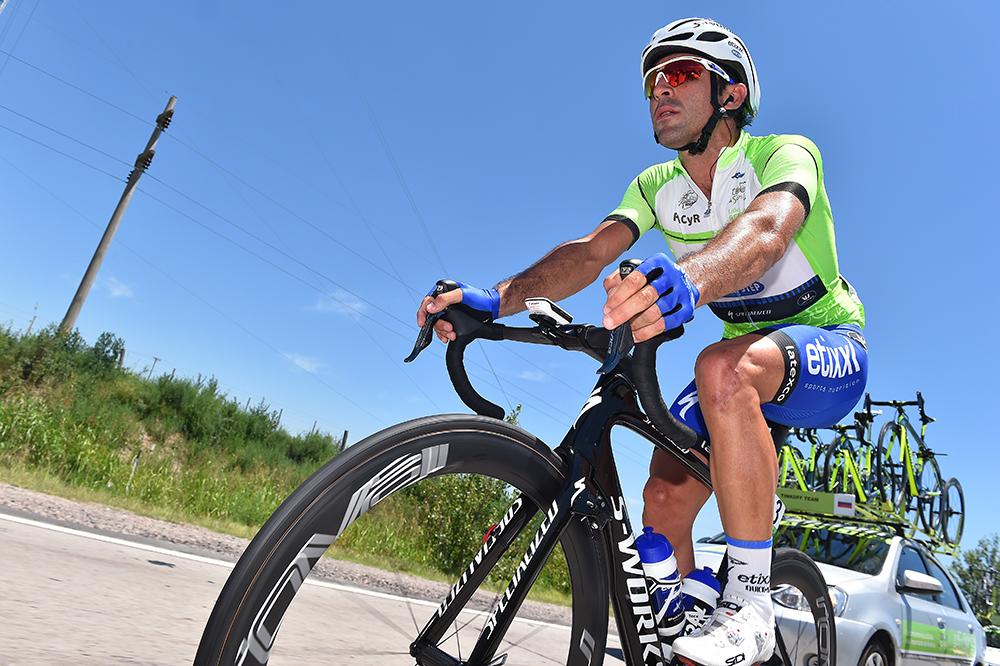 Maximiliano Richeze wore the leaders jersey on stage 2. Photo: Tim De Waele | TDWsport.com