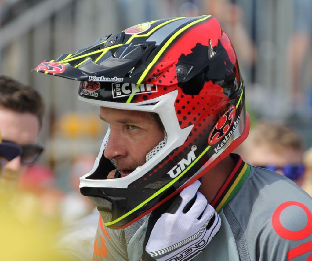 Greeg Minnar - Campeão da 3ª etapa da Copa do Mundo de Downhill em Fort Willian