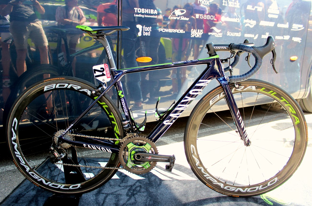 Pro bike: Nairo Quintana's 2016 Canyon Ultimate CF SLX (Pic: George Scott/Factory Media)