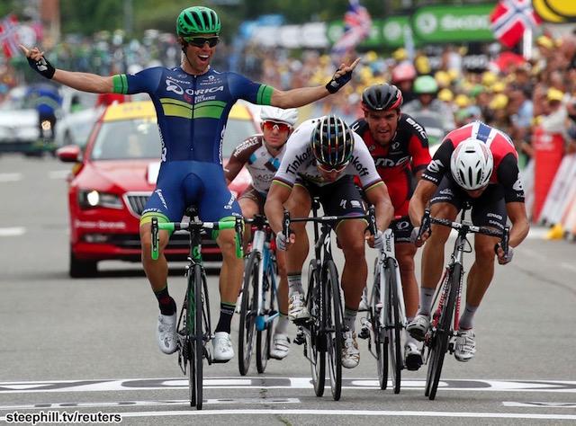 Tour de France. Stage 10 REUTERS/Jean-Paul Pelissier