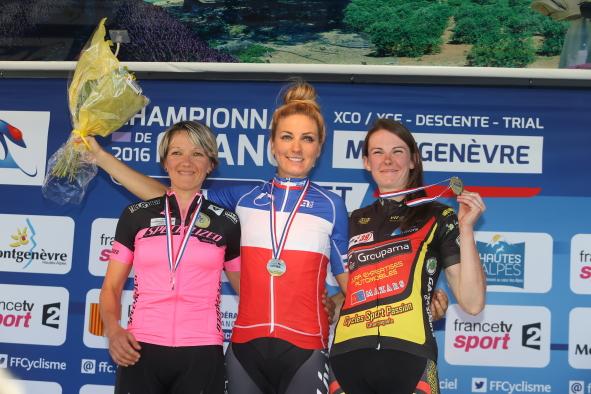Campeonato Francês de MTB XCO 2016, elite feminina