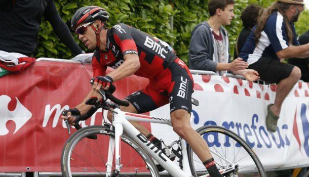 3 July 2016 103rd Tour de France Stage 02 : Saint-Lo - Cherbourg-en-Cotentin PORTE Richie (AUS) BMC Photo : Yuzuru SUNADA