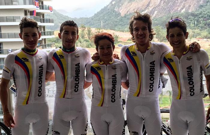 Seleção Colombiana Rio 2016